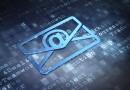 Konzept einer Email