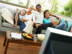 Fernsehabend Familie
