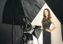 Model beim Fotoshooting