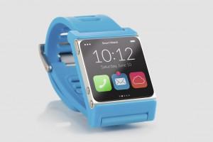 Blaue Smartwatch