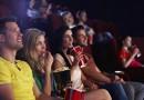 Kinobesucher im Saal