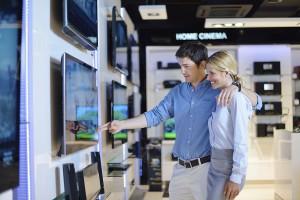 Fernseher: Rückläufige Umsätze