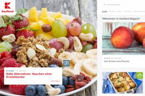 Das Kaufland-Magazin: Online-Leckerbissen für Feinschmecker