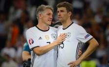 Bastian SChweinsteiger und Thomas Müller
